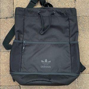 Adidas top loader black backpack